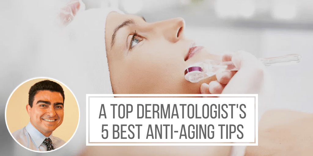 Anti-Aging Torrance: 5 Top Dermatology Skincare Tips