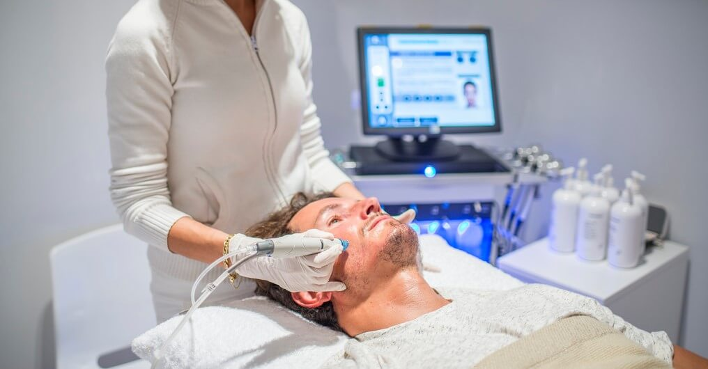 Skin Works Medical Spa is Number one provider of best facials for men in Torrance and south bay los angeles